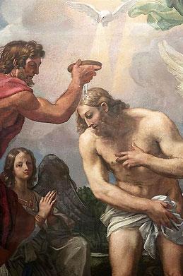 Carlo Maratta (1697 ?) - (détail) Basilica Santa Maria degli Angeli e dei Martiri - Roma