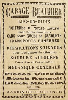 1935 : une offre à la fois complète et pittoresque…