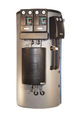 Speichersysteme mit oder ohne Frischwassermodul von Solar hoch 2
