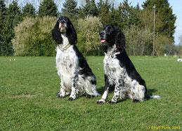 Cooper mit seiner kleinen Schwester Jarla