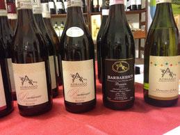 Weinprobe 2015 im Weingut Abrigo in Diano D'Alba