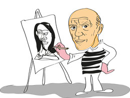 Homage an Pablo Picasso