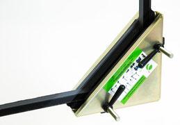 Eckschutz Schutzecke Kantenschutz Ecke für empfindliche Scheiben und Platten transportsolution Eckschutz für Glastisch Eckschutz für Glasscheiben Plattentransportwagen, Glaswagen, Glastransportwagen, Glas-Transportwagen, Glas, Transportwagen,