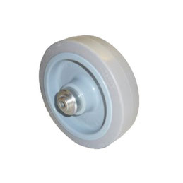 Wheel with hub for AKIA MENOR sliding gate motor drive