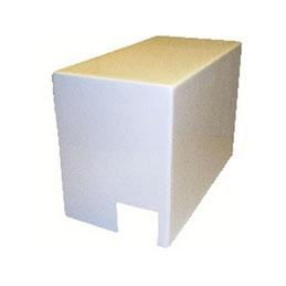 Cubierta MENOR para motorización de portón corredero AKIA