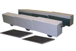 AKIA BI-TWIN wheeled motor drive kit x 2, x3... for very heavy swimming pool enclosures