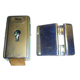 VIRO electric lock with vertical latch for AKIA France System's wheeled motor drive