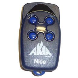 télécommande Nice FLO 4 canaux pour les motorisations à roue d'AKIA France System