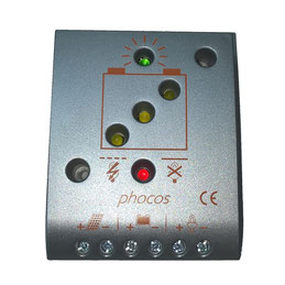 12-24V charge controller for AKIA France System wheeled solar-powered motor drives