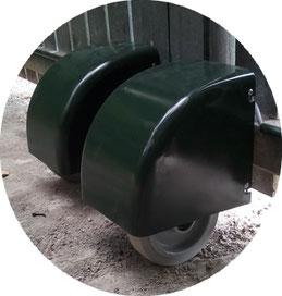 Wheels of AKIA France System motor drives