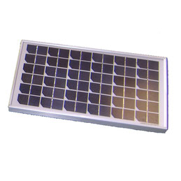 Panel solar 24 V-30 W para motorizaciones de piscina de rueda AKIA France System