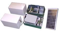 Kit de motorización de rueda AKIA TWIN para cobertores de piscina