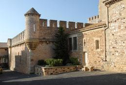 """le château """" coté entrée principale """""""