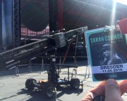 Sarah Connor live Filmnächte Dresden Luftaufnahmen Drohne
