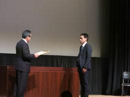 特別賞を受賞した吉岡恵さん