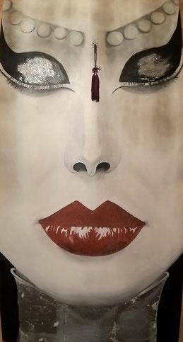 ° Parasomnia oil on canvas 50x100 / 2012