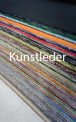 Verschiedene Kunstleder sorten-Vinyl-Simili / Plastik