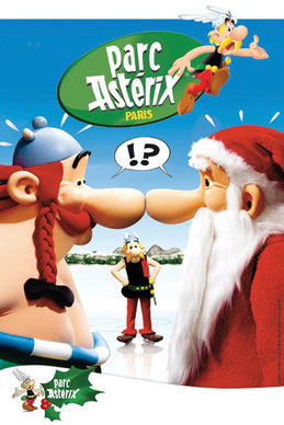 Noel au Parc Asterix 2016 Spectacles de noël