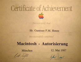 Apple Macintosh-Autorisierung bereits seit 1987