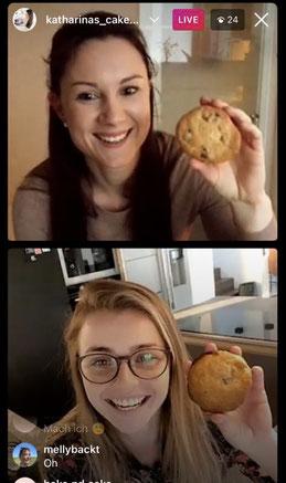 Schoko Cookies mit Lara, 09.02.2021