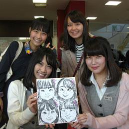 神奈川県の似顔絵イベント