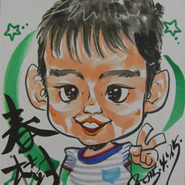 千葉県香取市に似顔絵師が出張