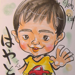 千葉県に似顔絵師