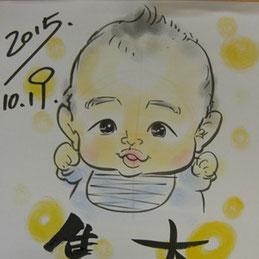 茨城県で大人気の似顔絵