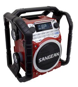 Baustellenradio-Werkstattradio Sangean U4DBT