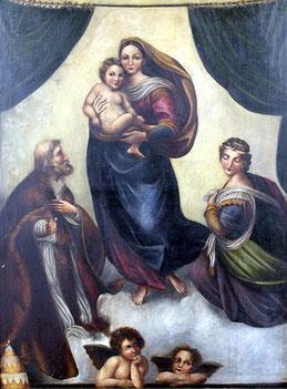 Maler des 19. Jahrhunderts: Sixtinische Madonna