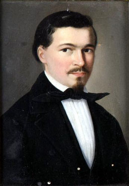 Maler des 19. JH., Herrenporträt