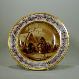 Bilderteller; KPM-Berlin, um 1803/1813.