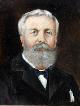 E. Thümer (Maler des 19./20. Jhs.). Herrenportrait.