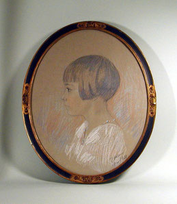 Maler des 20. JH., Damenporträt