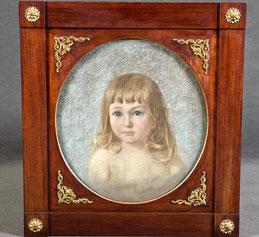 Anna von Wahl (geb. 1861in St. Petersburg): Mädchenporträt.