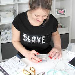 Sylwia Schreck von www.stempel-einfach.de