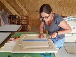 Artisan peintre sur meubles haute-savoie