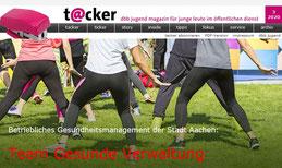 Tacker - das dbb Jugend magazin