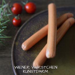 Wiener Würstchen Schäldarm