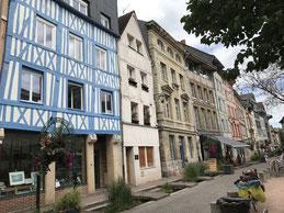 Rouen città di Jeanne D'Arc Normandia