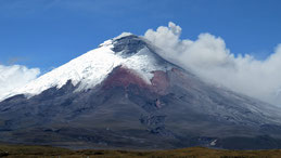 Volcan Cotopaxi, Cotopaxi volcano