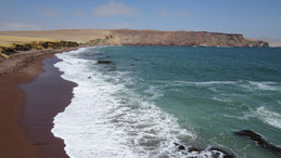 Playa Roja, Paracas National Park