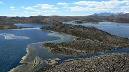 Lagunas de Cotacotani, Lagoons of Cotacotani, Cotacotani Lagune, Lauca National Park