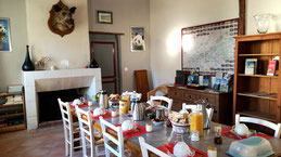 salle à manger pour petits déjeuners et diners