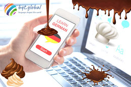 German for pastry chefs online