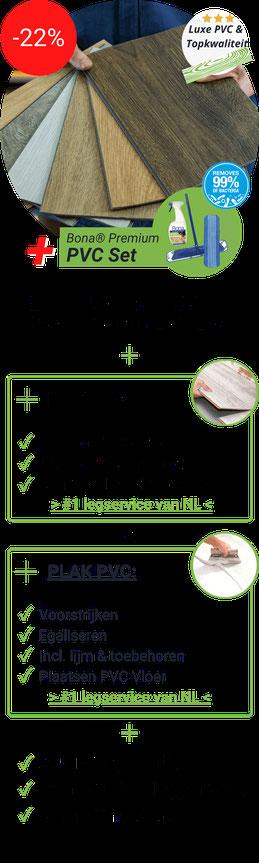 Alle voordelen van PVC premium deal plak overzichtelijk