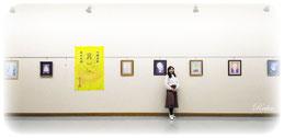 仏画展の風景