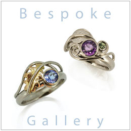 Bespoke Jewellery Gallery - Leaf Rings & Leaf Jewellery