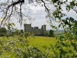 Découvrir le Château de Lagardère, dans le Gers en Occitanie, près de Lassenat éco-maison d'hôtes en Gascogne, chambres d'hôtes de charme, table d'hôtes bio et locavore. Suggestions de randonnée, panier pique-nique