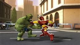 Marvel Super Hero Squad, un juego divertidísmo que he disfrutado mucho en la PlayStation 2